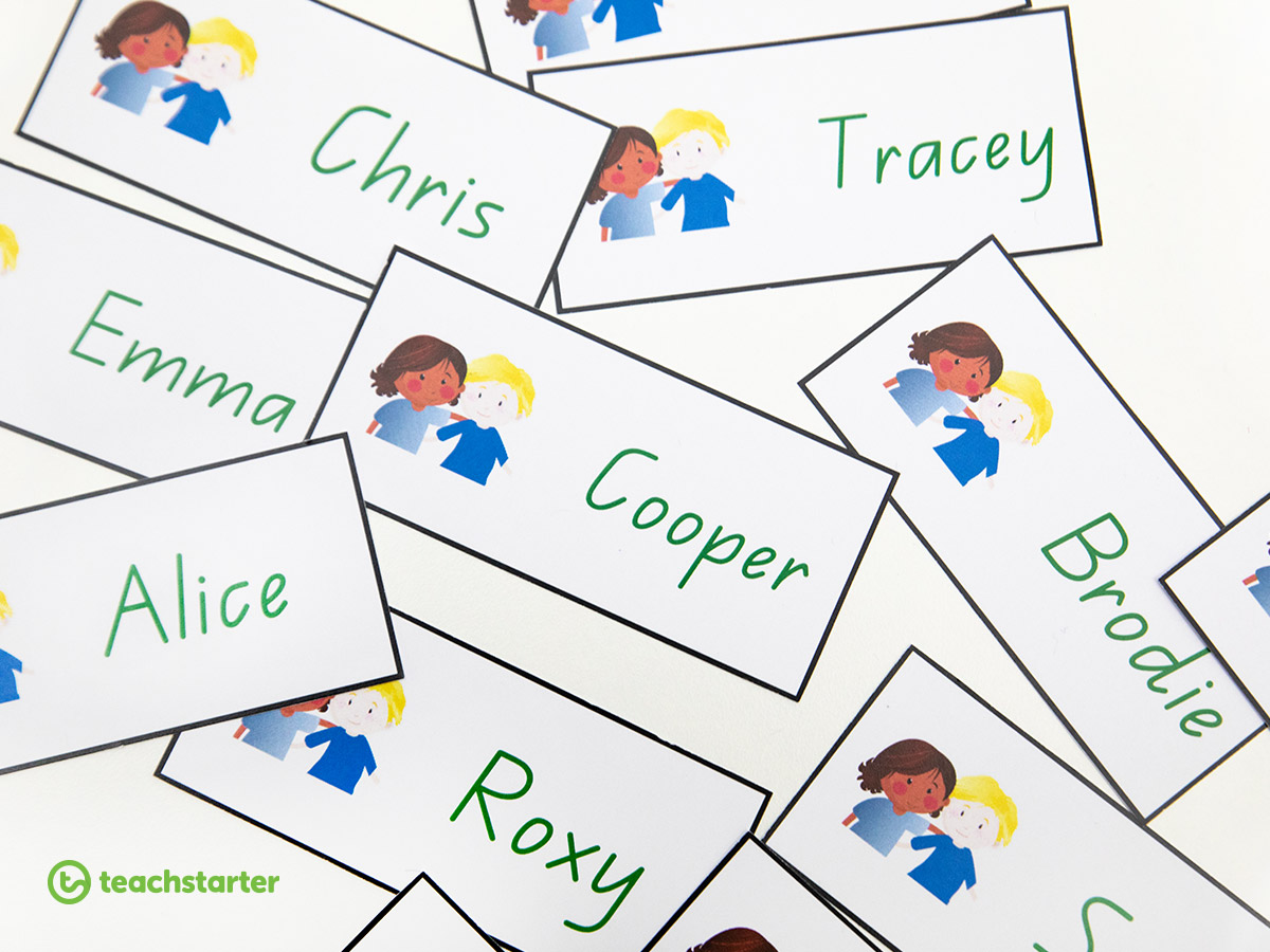 11+ Ways to use our label creator widget - Create Student Name Tags