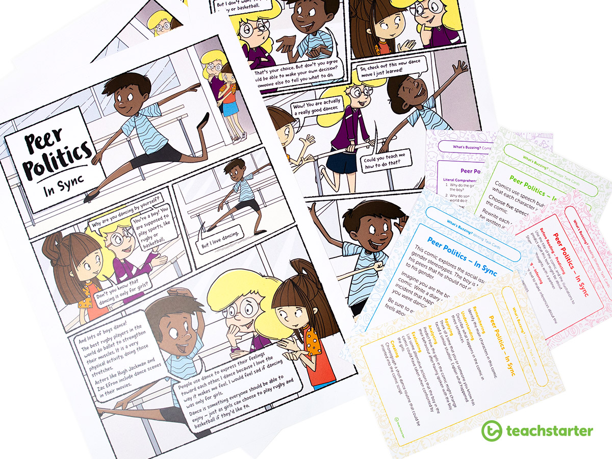 Literacy activity for the classroom.