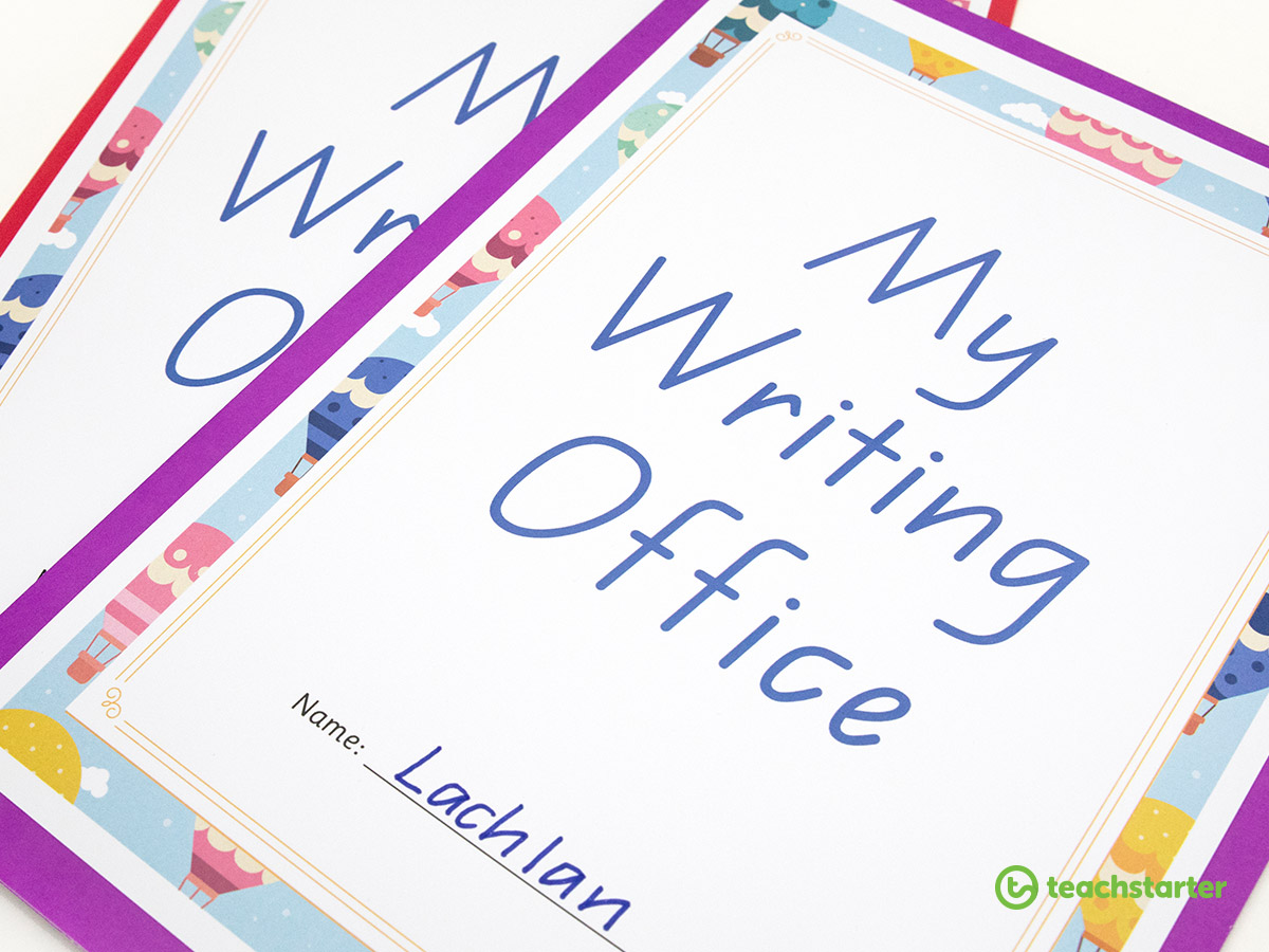 Use a mini writing office to develop your students writing skills.