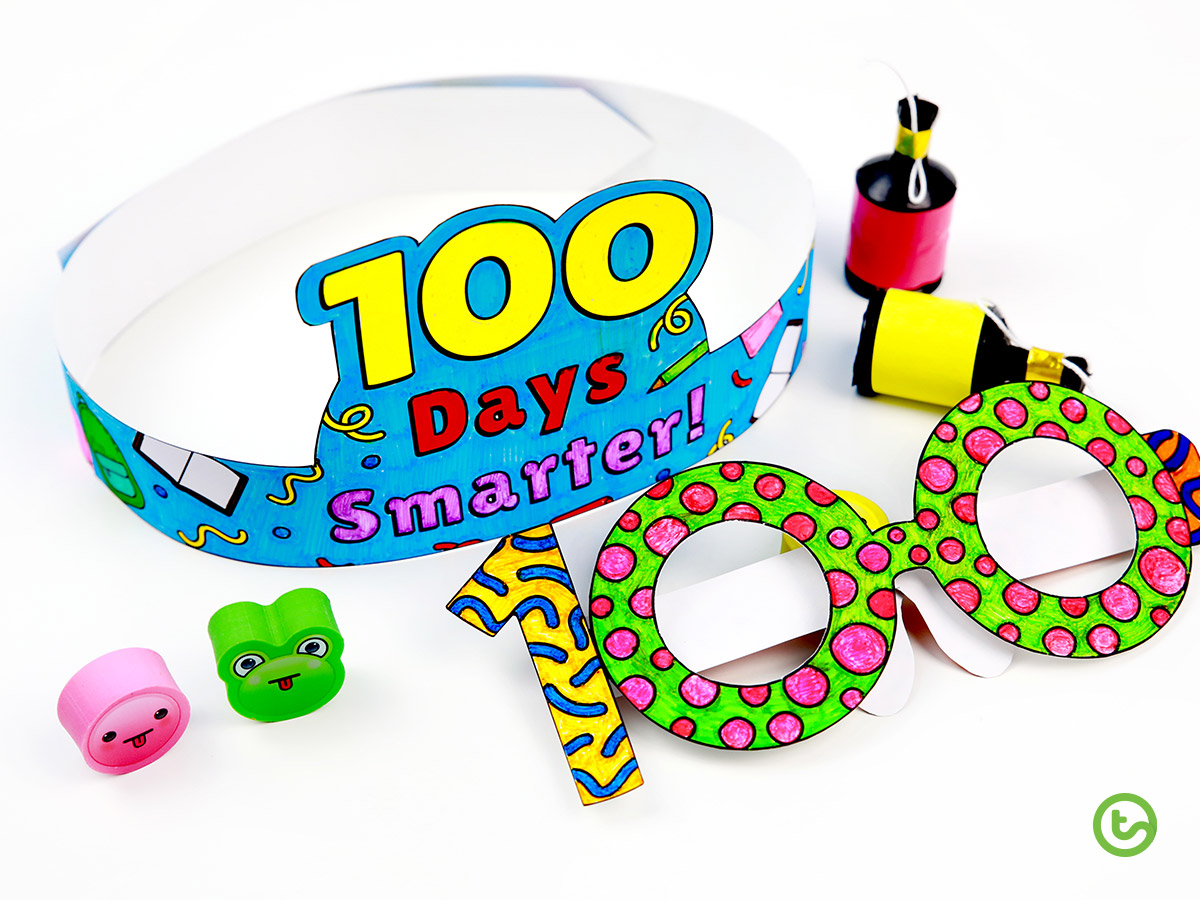 Don't forget to celebrate 100 days at school.