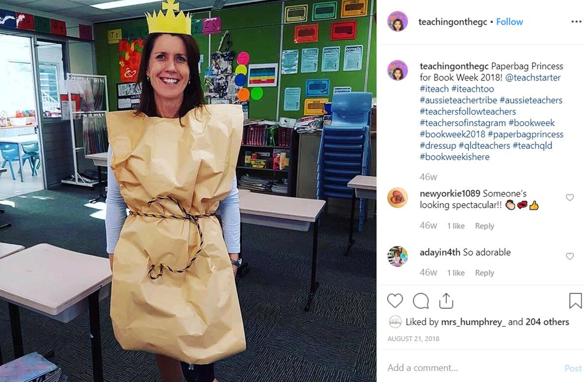 Book week costume ideas for teachers