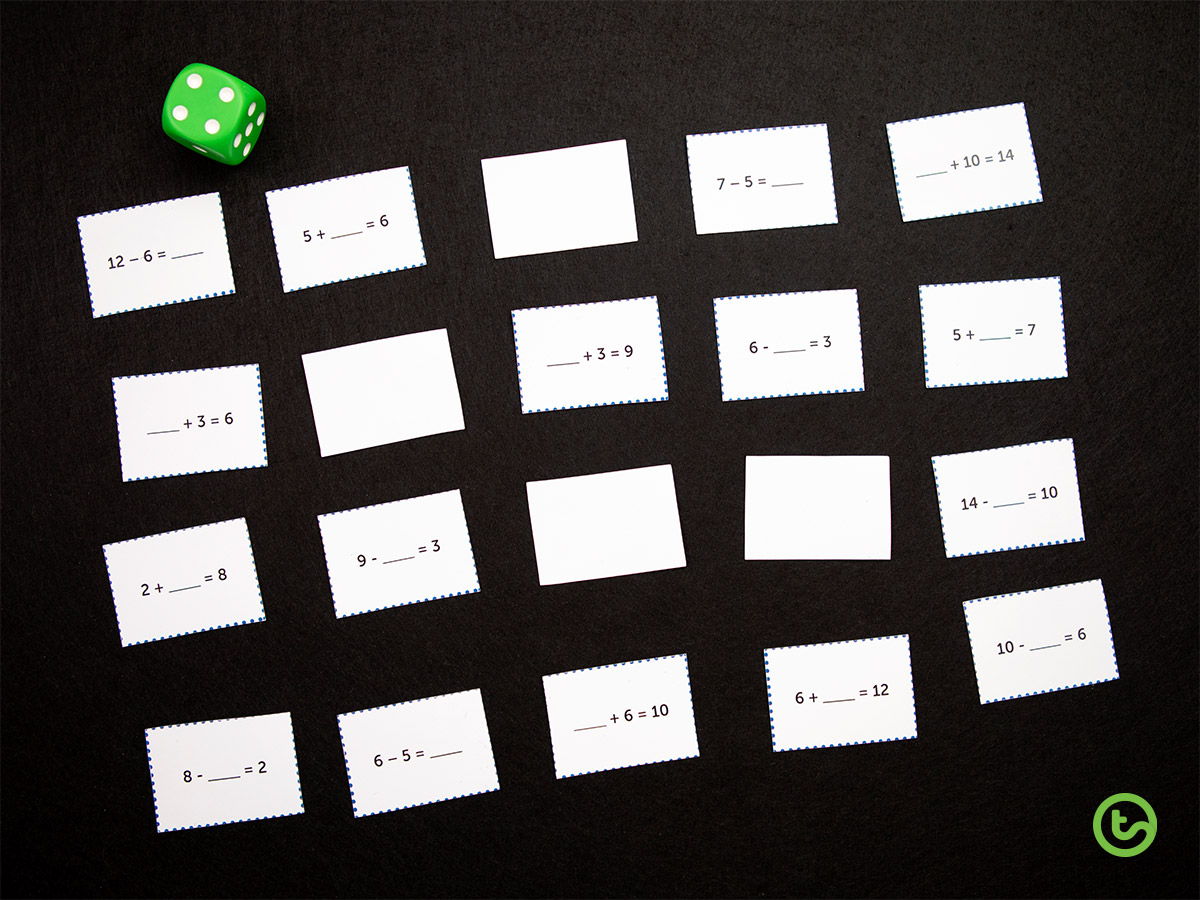 The Ultimate Maths Game - One Resource Five Ways! - Use it as an independent game - Play traditionally