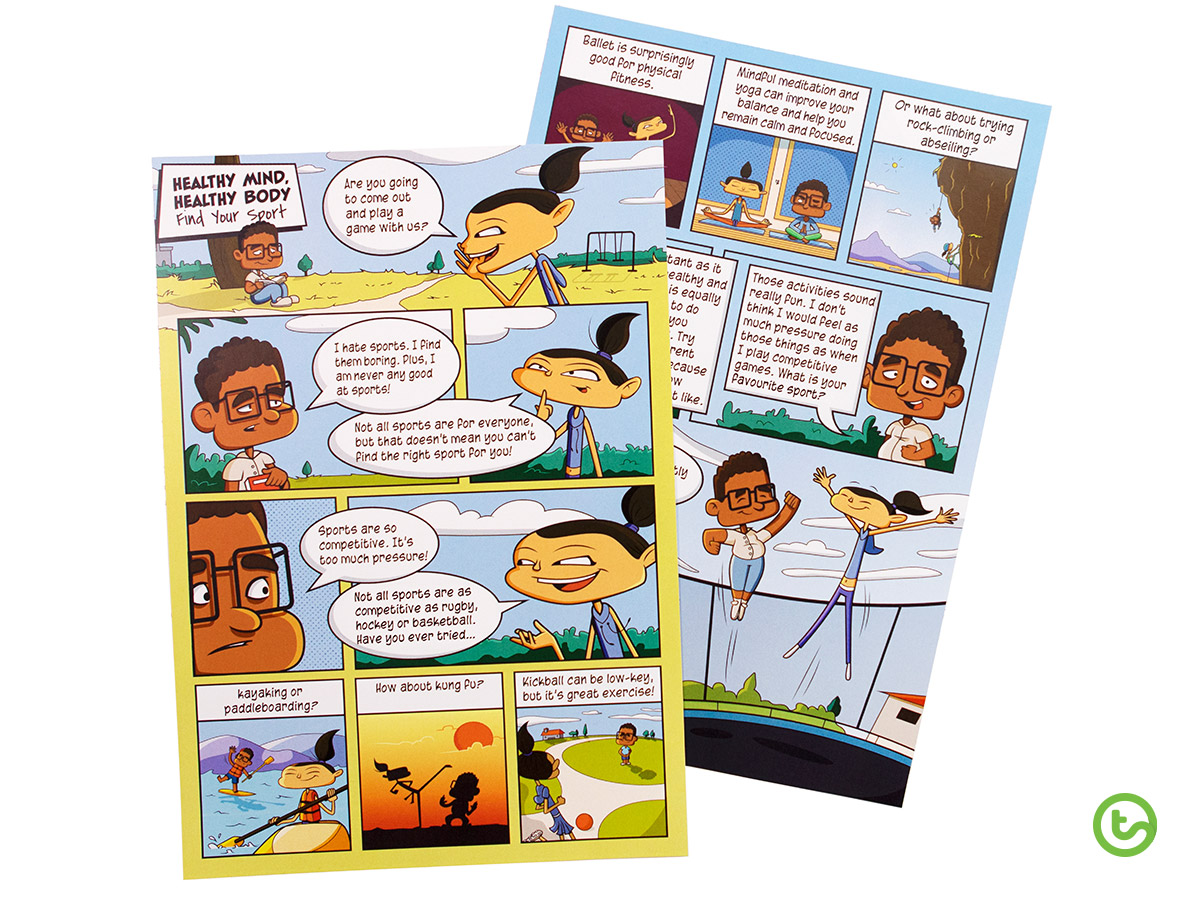 Kids love comic strips!