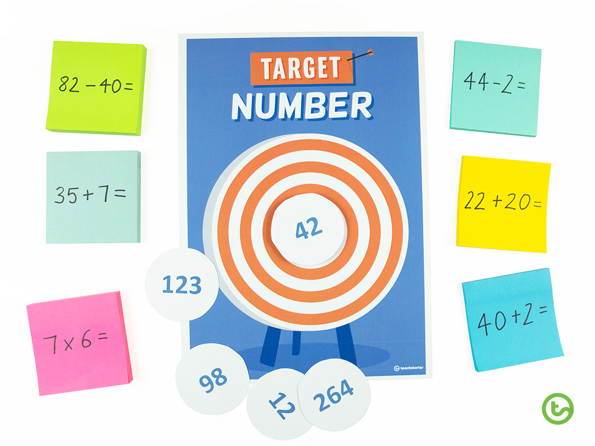 Target Number Maths Warm-Up