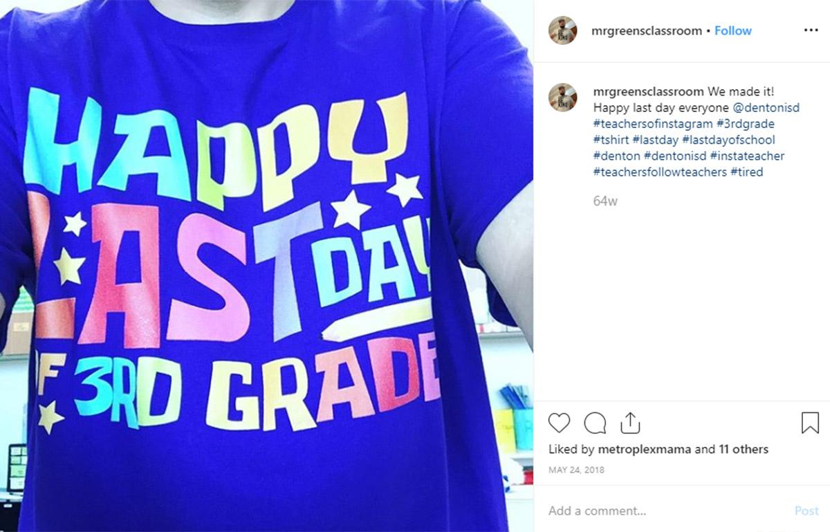 Teacher T-Shirt - #teachertees