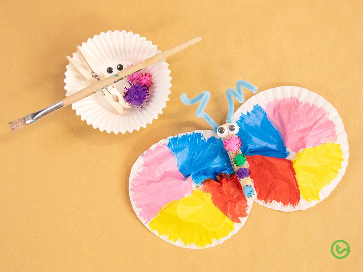 Spring Activities for Kids - Butterfly