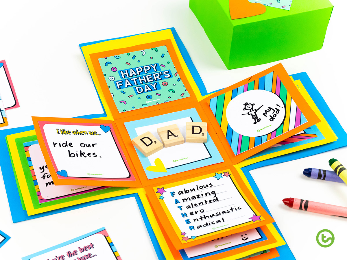 Father's Day Activities - Surprise Gift Box