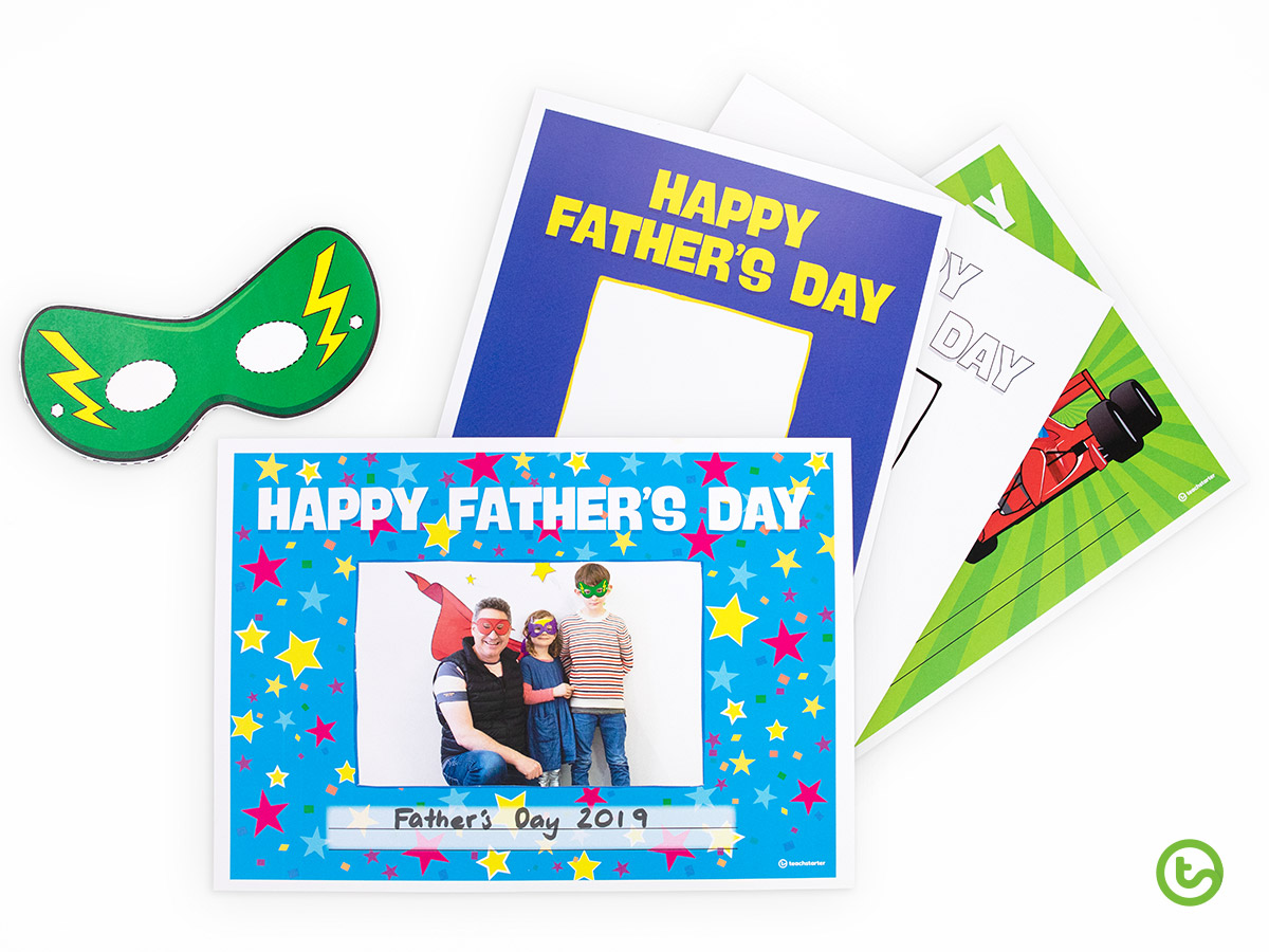 Father's Day Activities - Father's Day Photo Booth