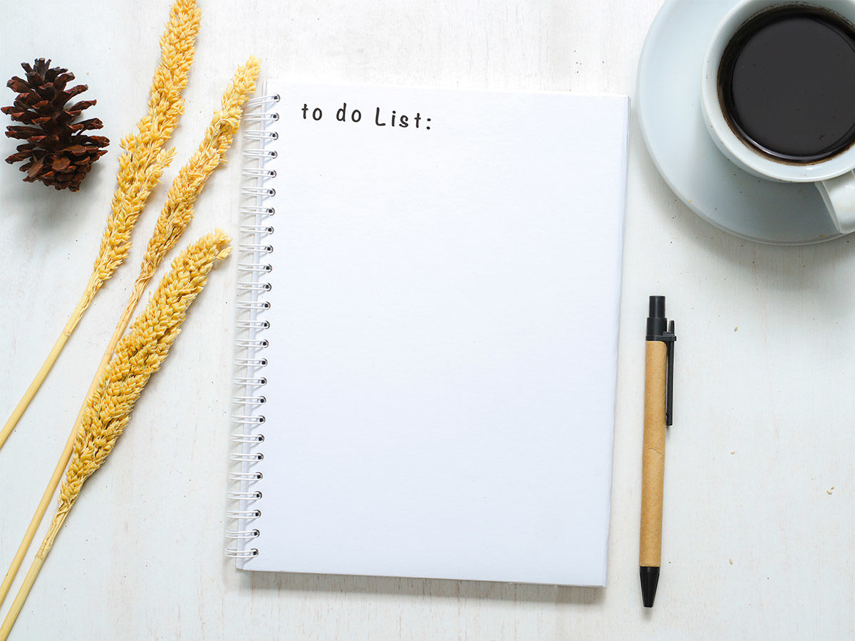Have a must do list and want to do list when being a teacher-parent
