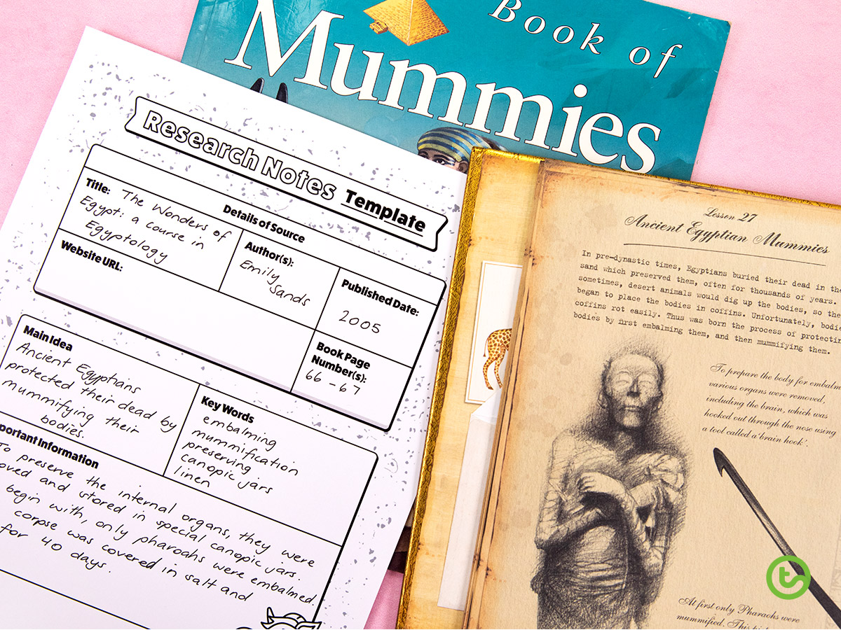 Library Activities for Kids - Making the most of library time - independent research