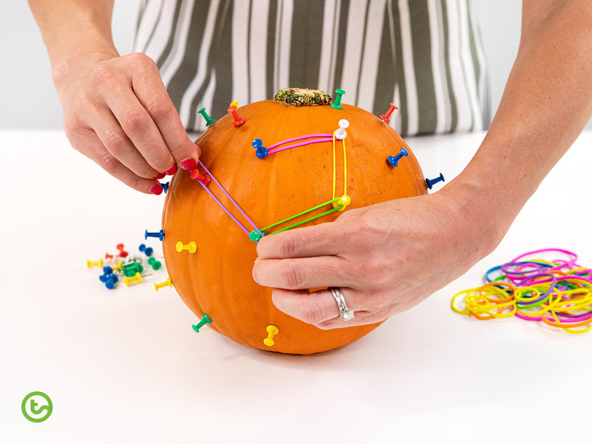 a Halloween Math activity that explore polygons.