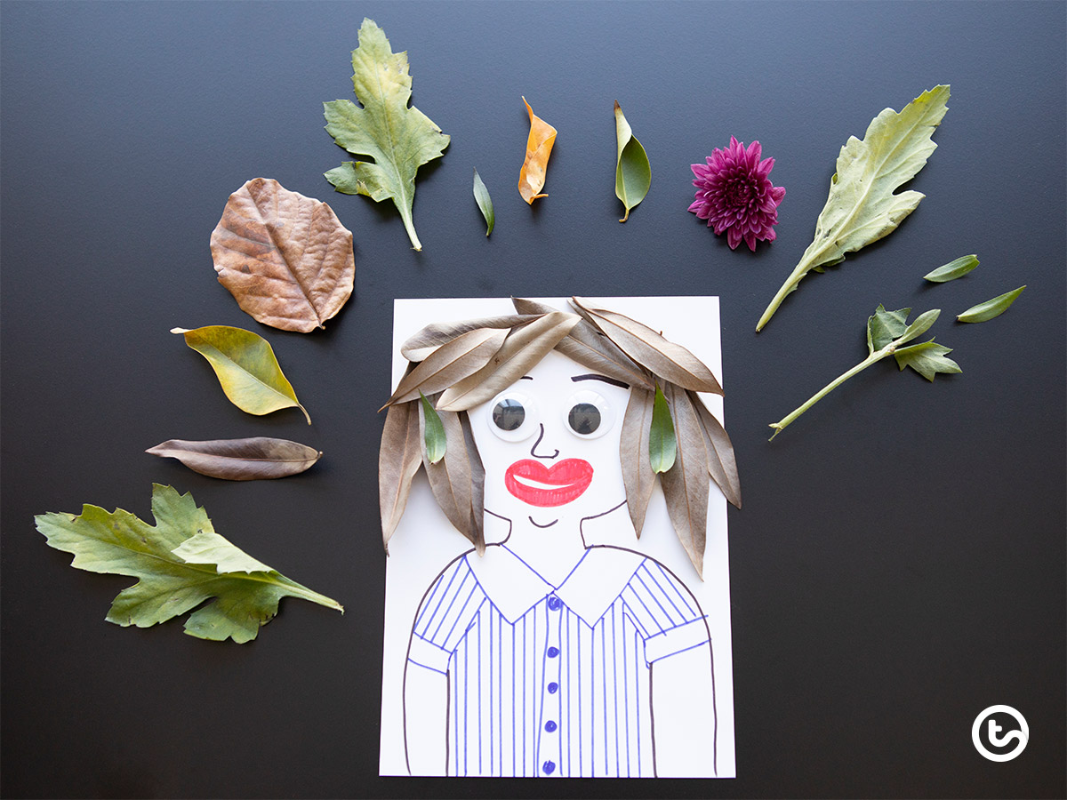 Using Natural Resources in the Classroom - Make a Character