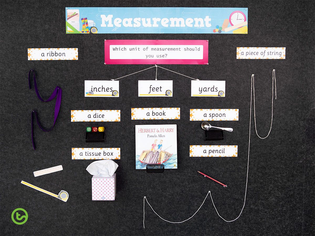 How to Make an Interactive Bulletin Board Display - measurement madness