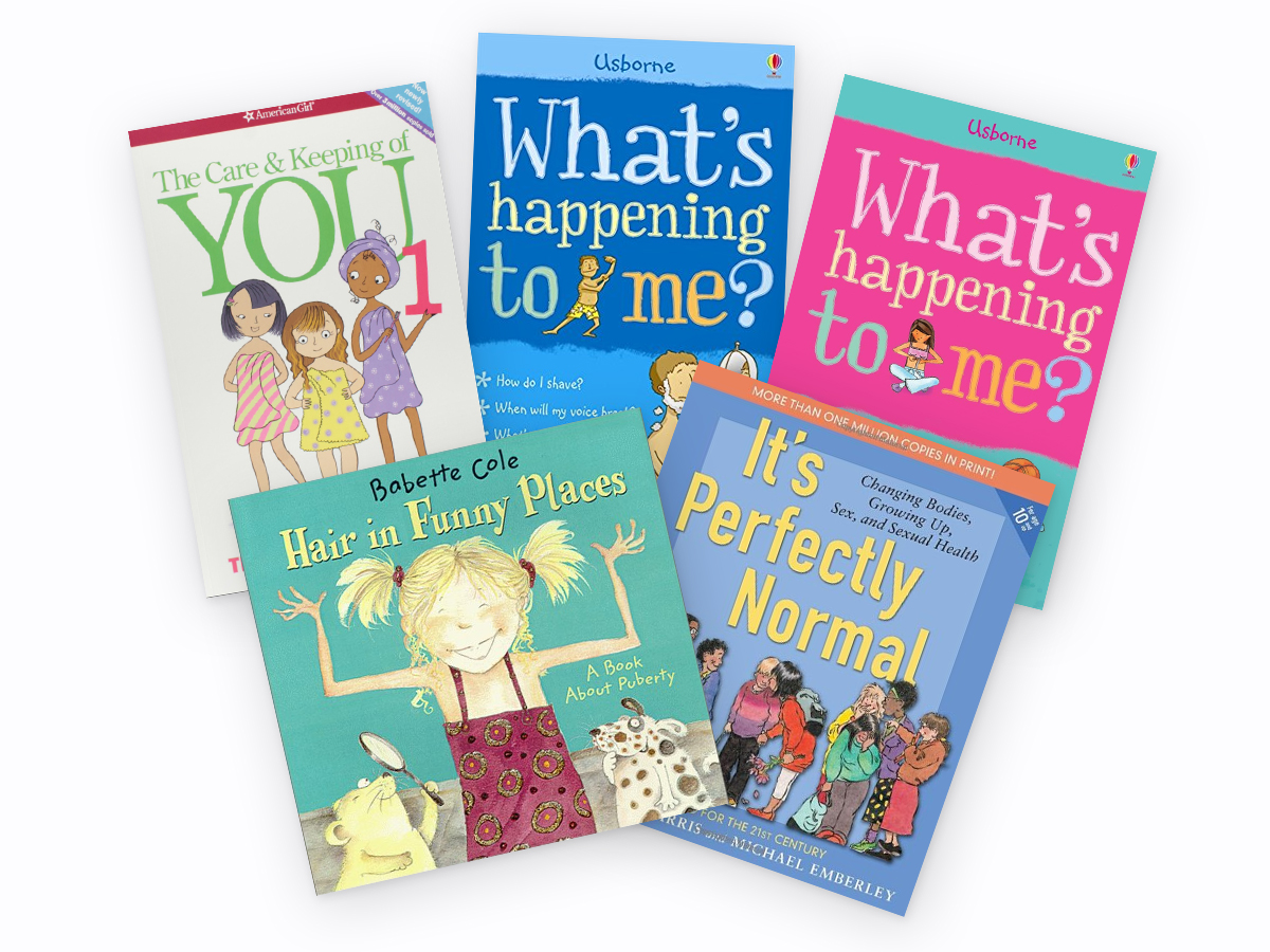 Explaining Puberty - books that help children learn about puberty