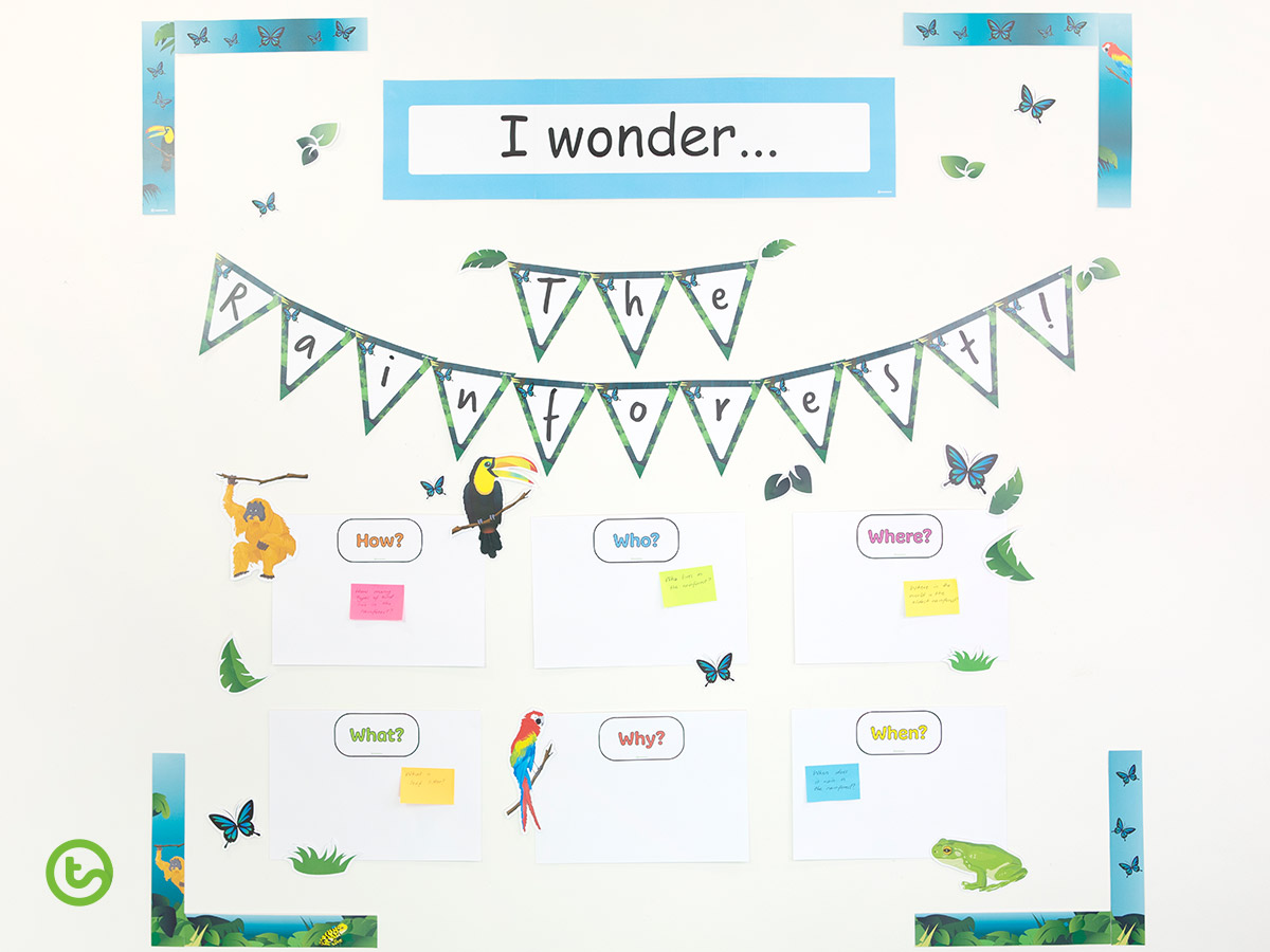 How to Make an Interactive Bulletin Board Display