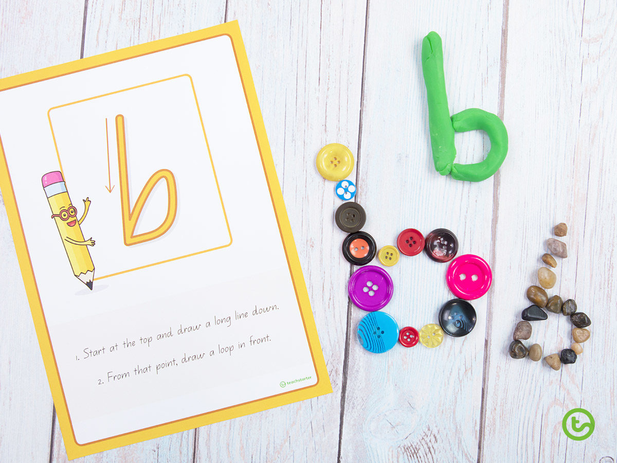 hands-on letter formation activities
