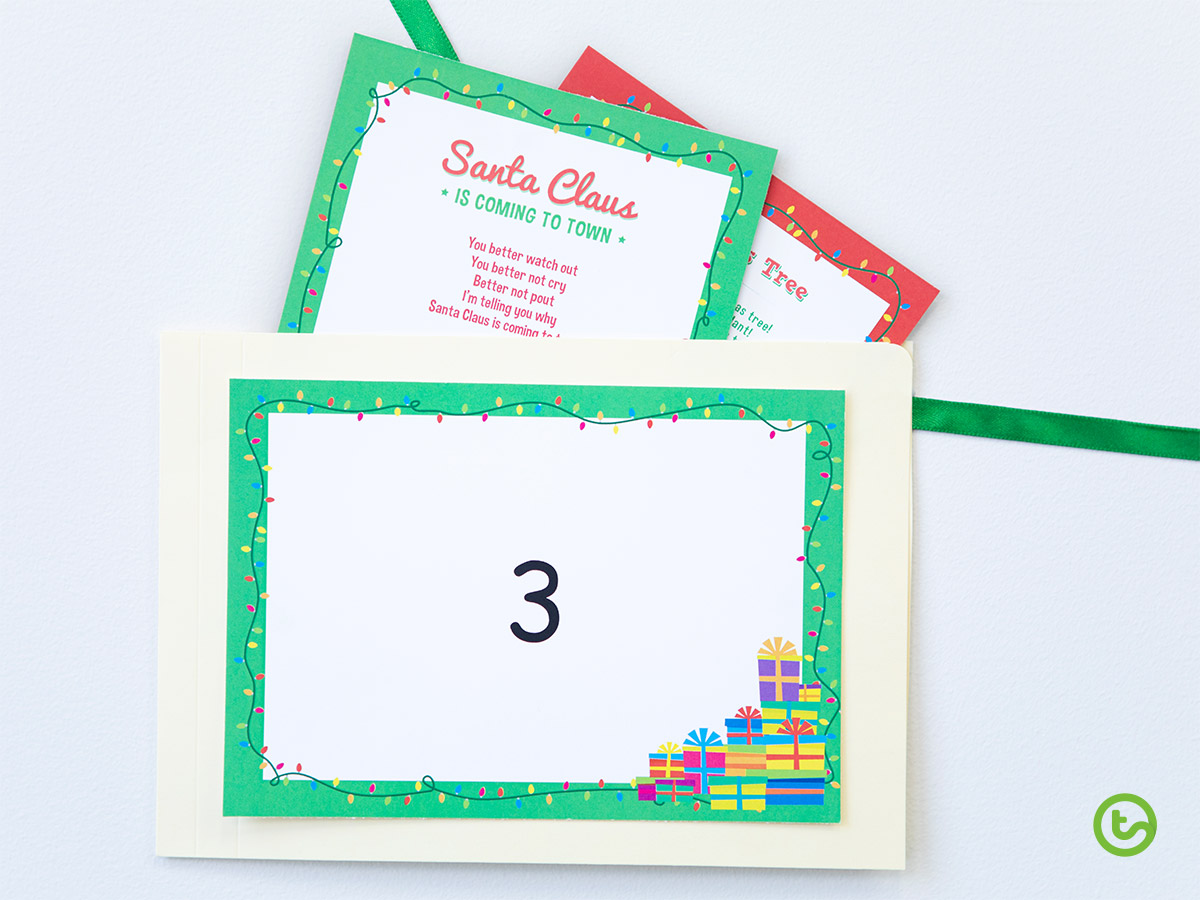 Classroom Advent Calendar - Christmas Carols