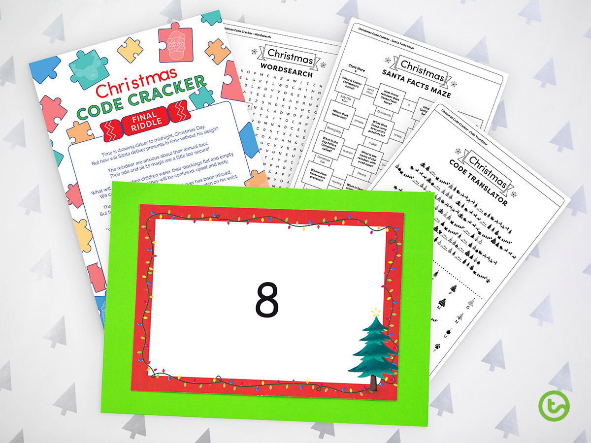 Classroom Advent Calendar - Code Cracker