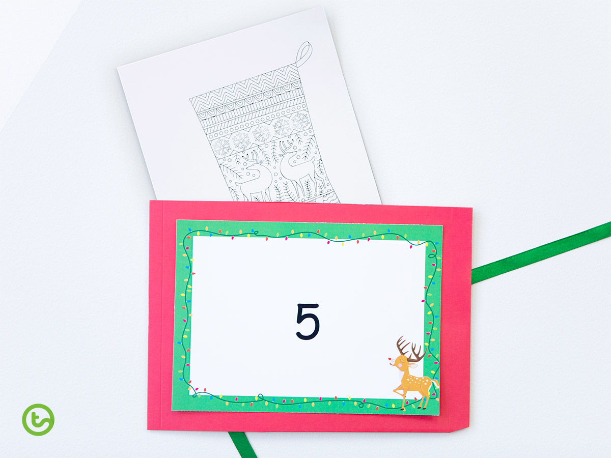 Classroom Advent Calendar - Count Down To Christmas!c