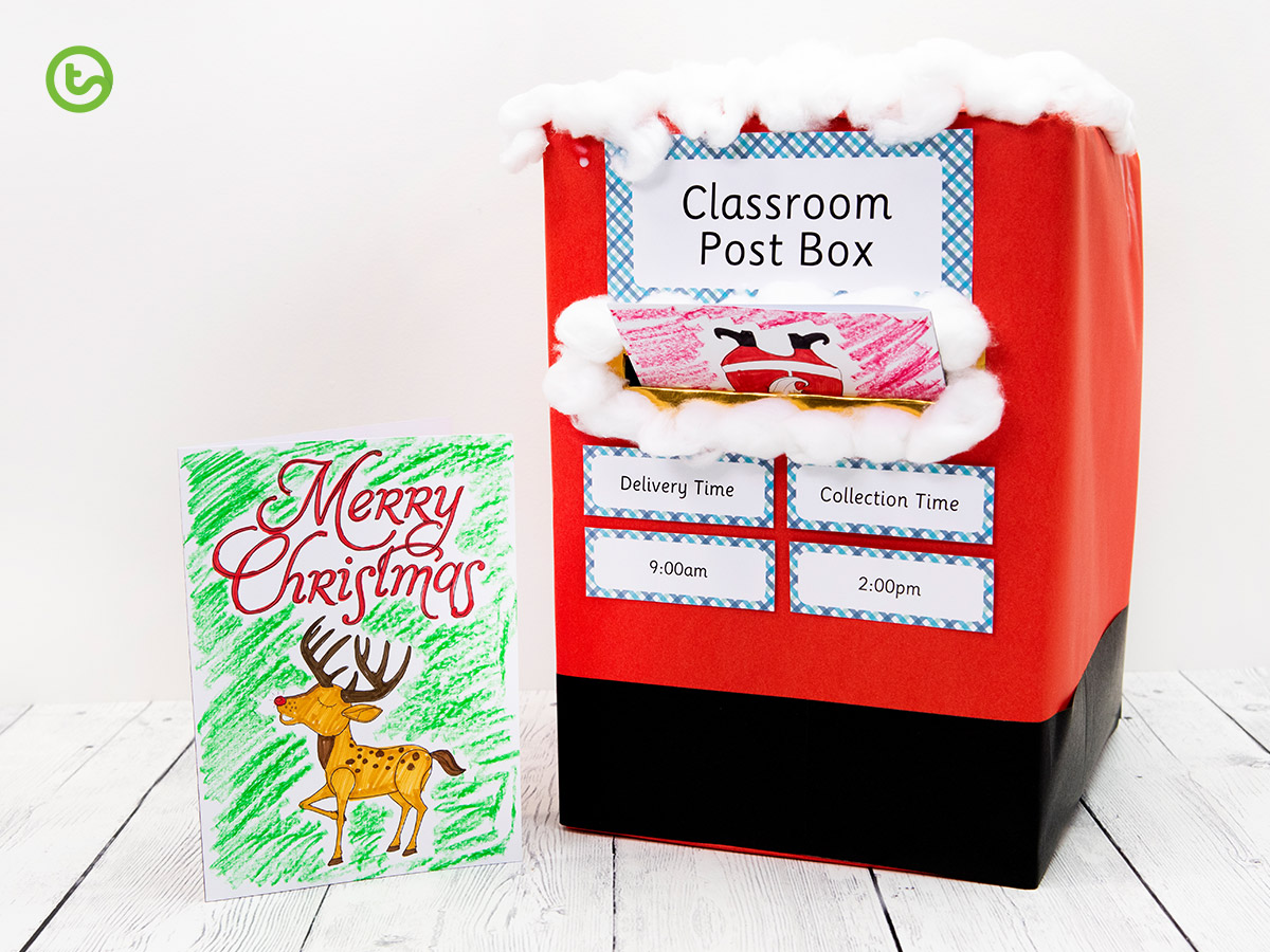 explore writing greeting cards for a fun Christmas English activity.