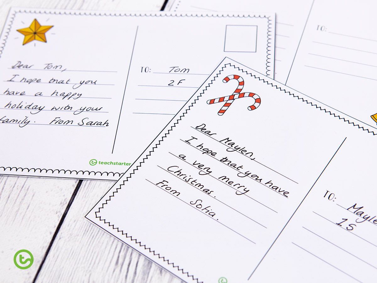 postcards perfect to send a quick and simple holiday message!