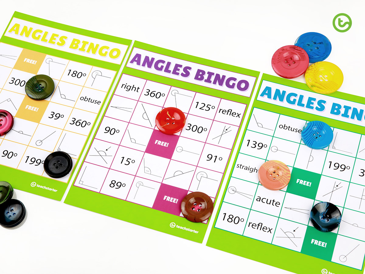 Angles Bingo - Your Top 10 Favorite Teaching Resources of 2019
