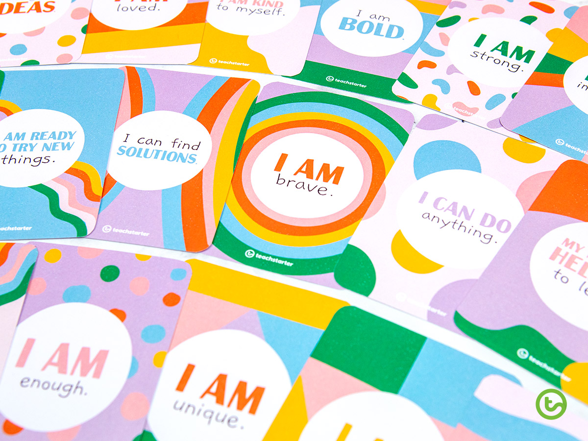 positive affirmation cards for kids.