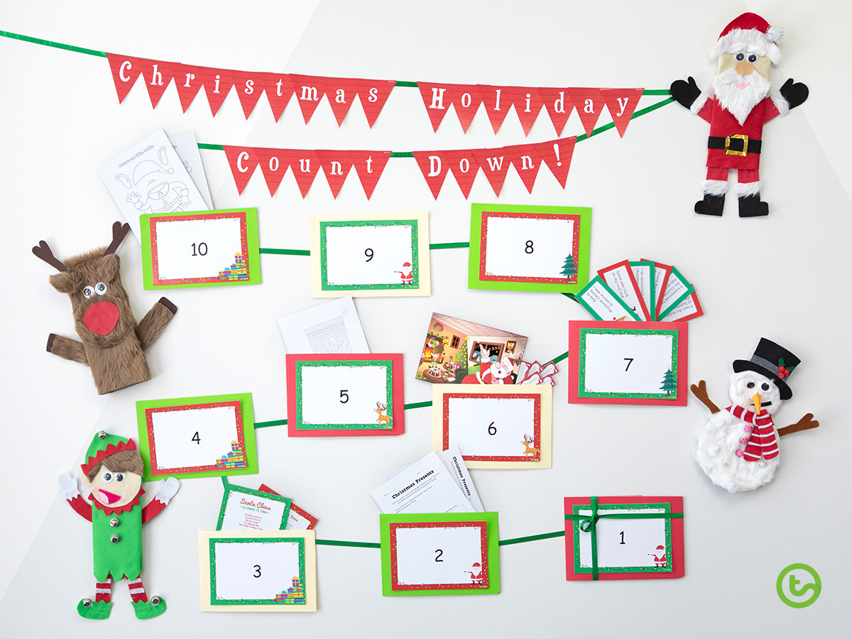 Making your very own Classroom Advent Calendar is so easy!