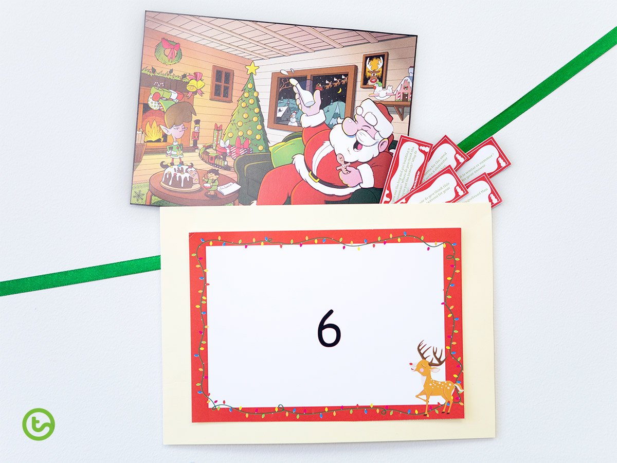 Classroom Advent Calendar - Comprehension Task Cards