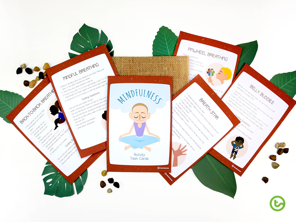 Mindfulness Activity Task Cards - Top 10 Favorite Teaching Resources of 2019