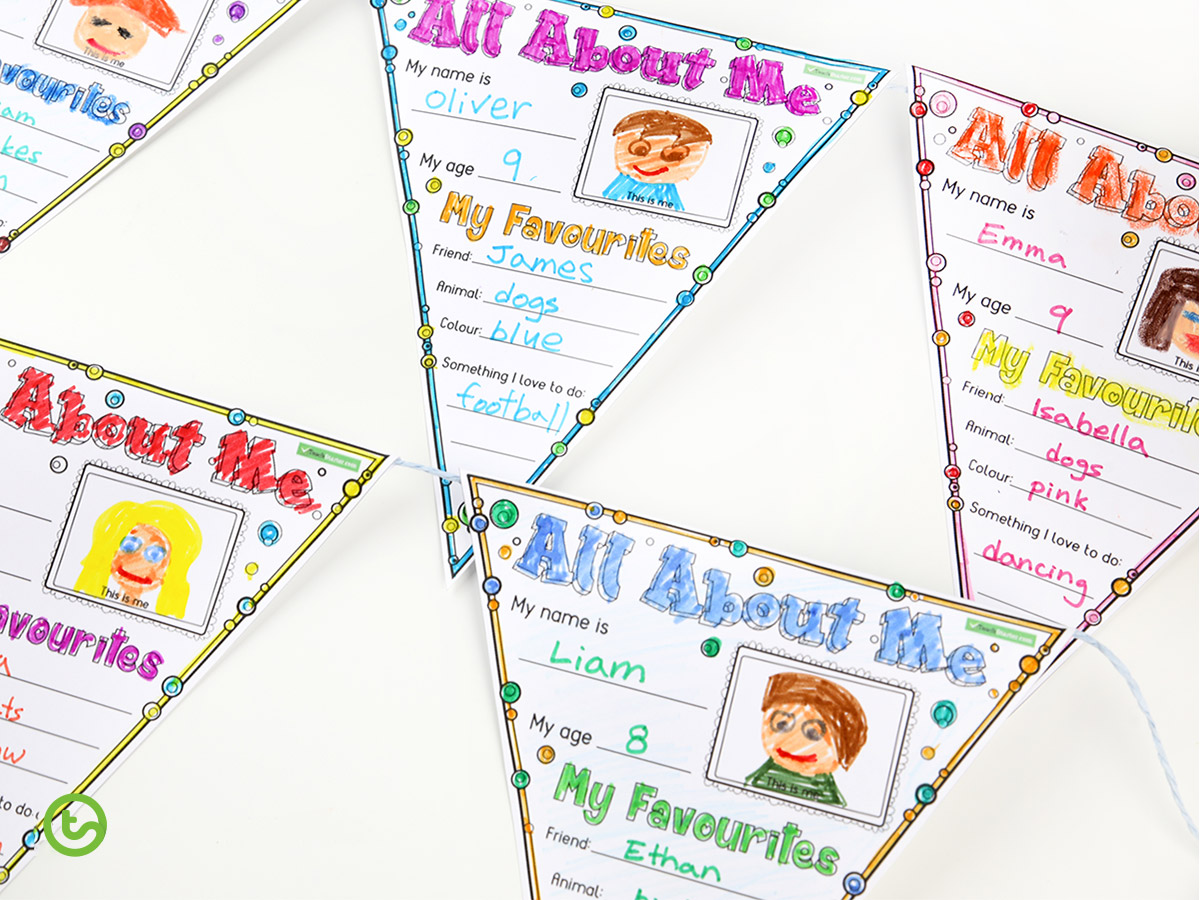 Back-to-School Teaching Resource Pack - Year 3 Bunting
