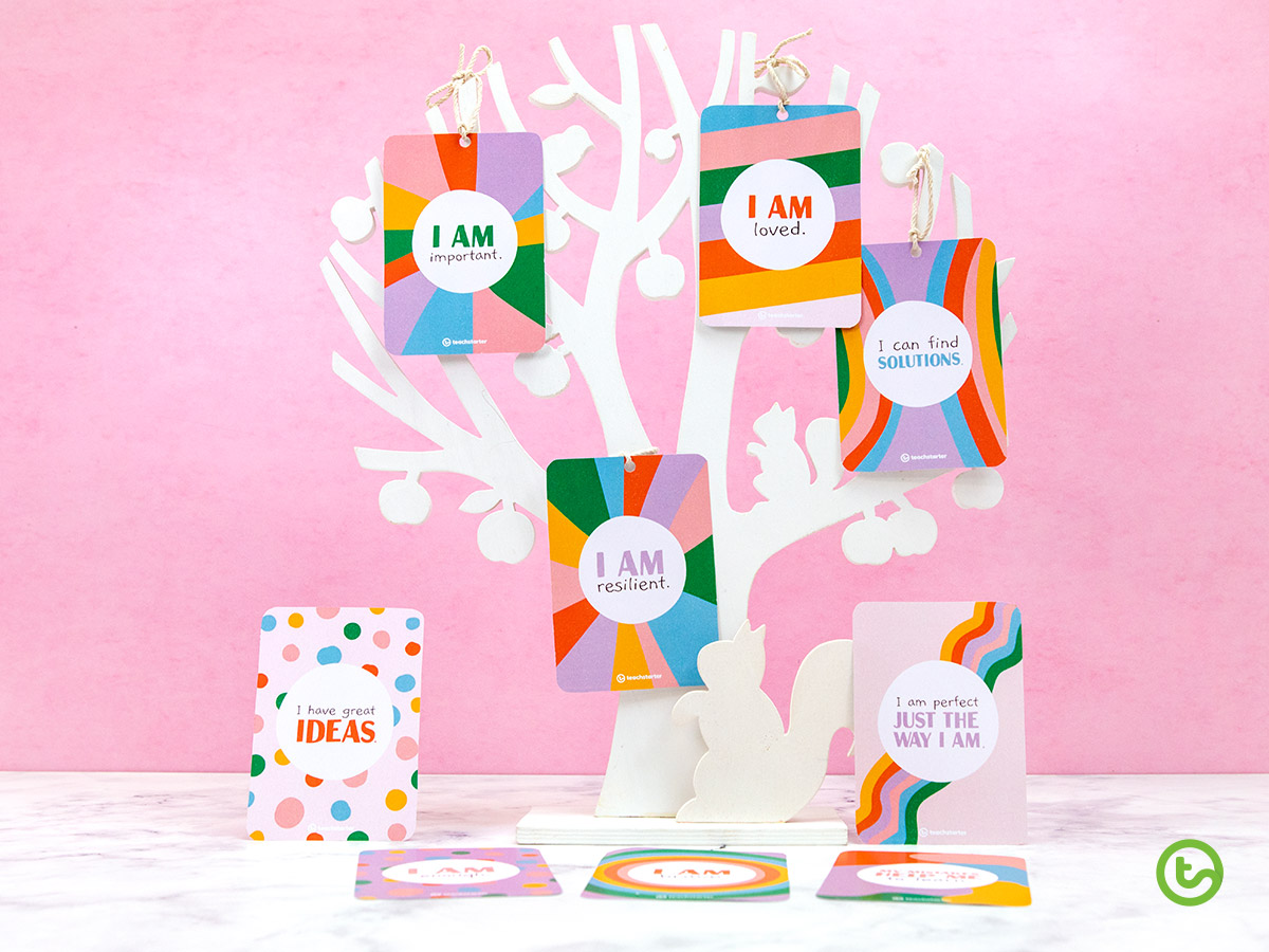 positive affirmation trees for the classroom.