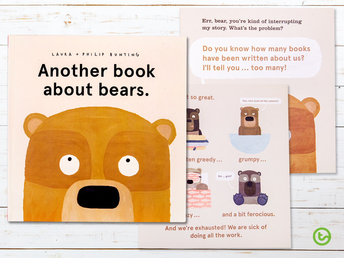 a picture book for lower years about how it feels to be a bear.