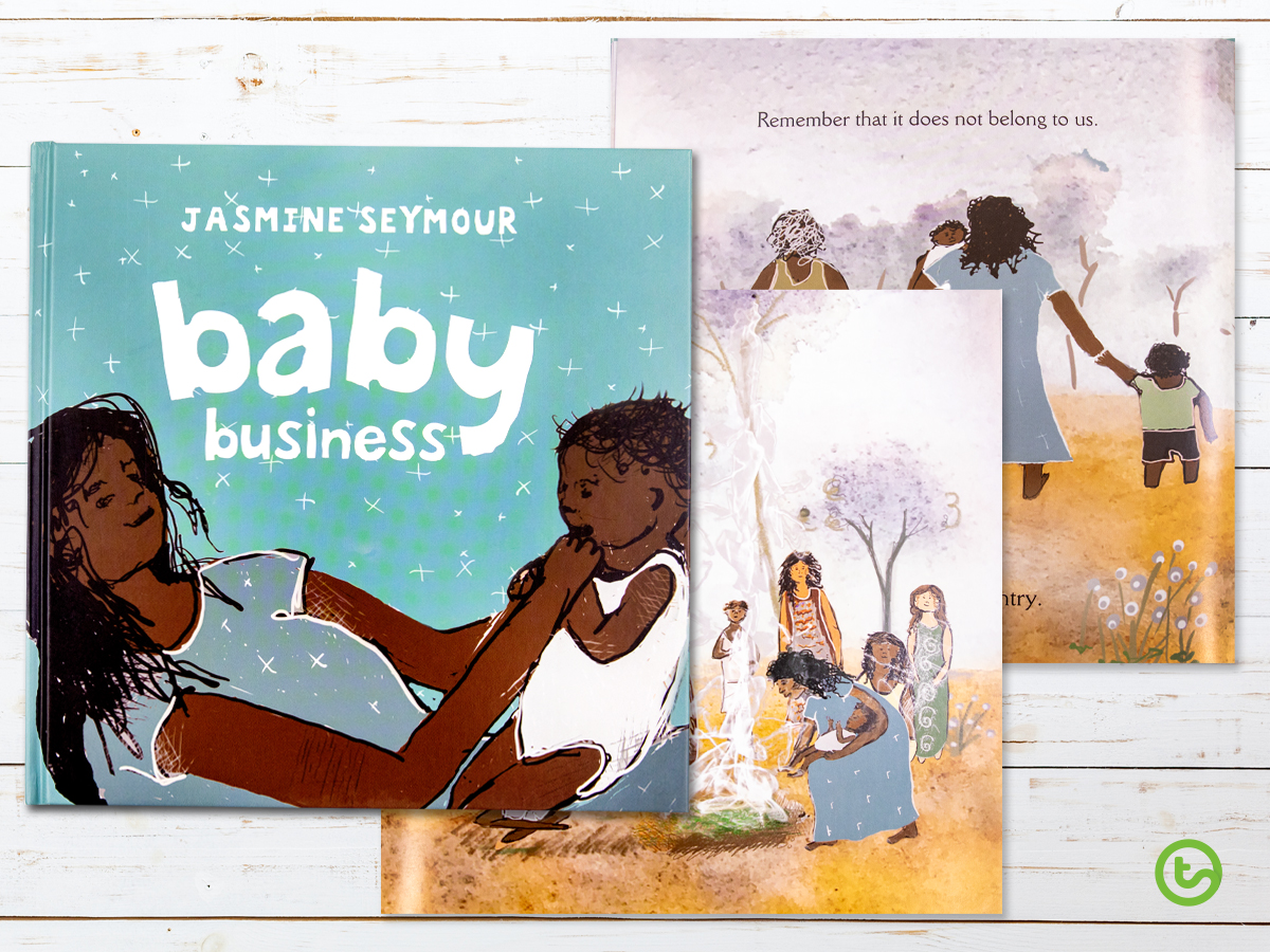 a picture book telling the story of the baby smoking ceremony.