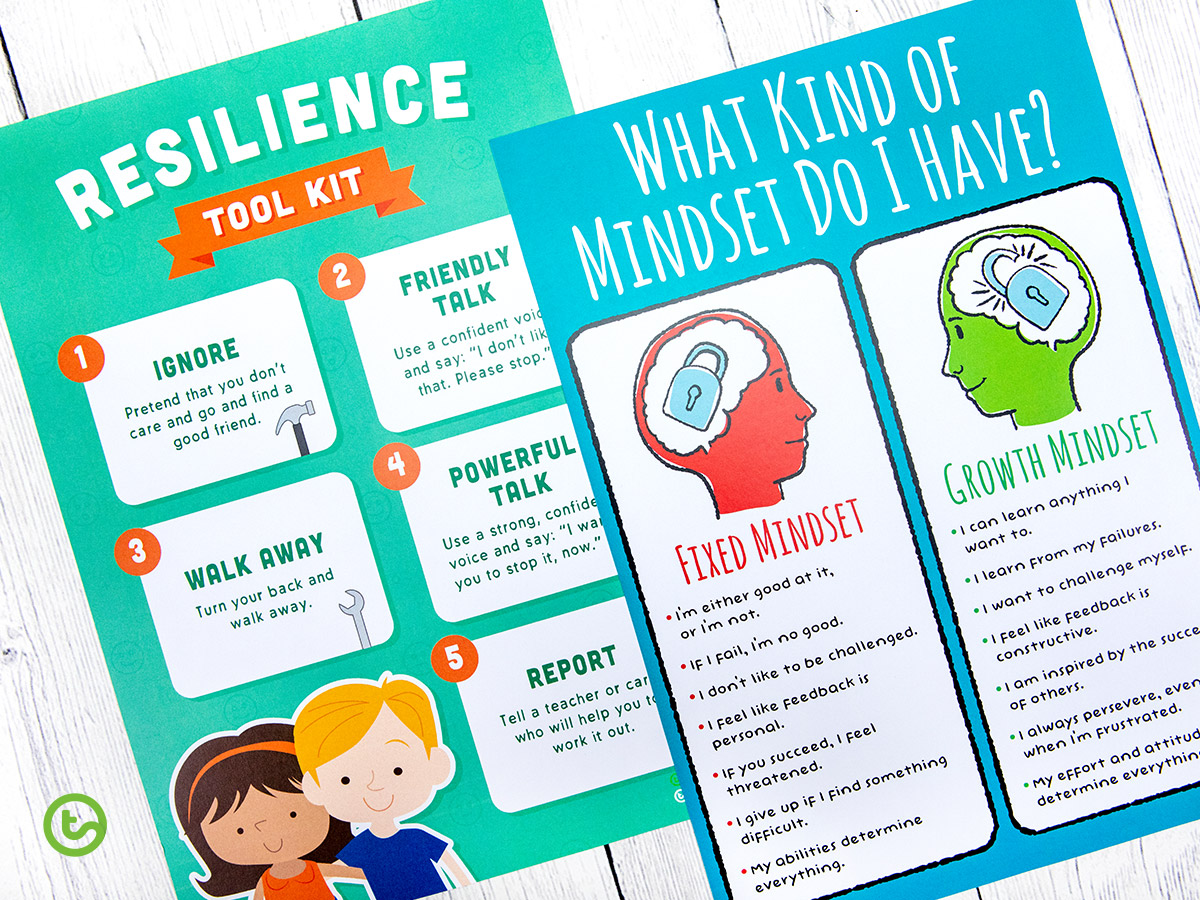 FREE Year 4 Back-to-School Resource Pack - Growth Mindset