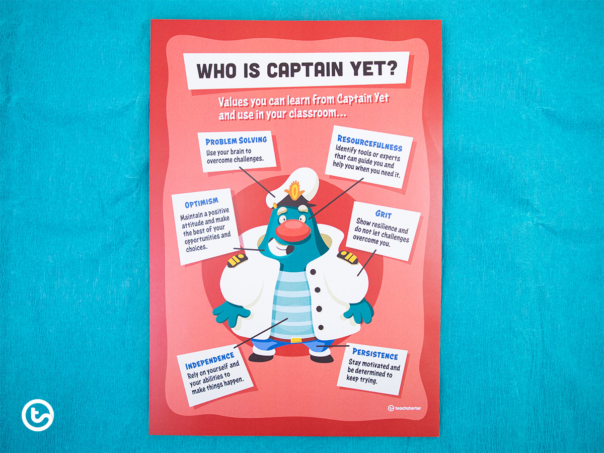The Power of Captain Yet - Growth Mindset for Kids - Who is Captain Yet?