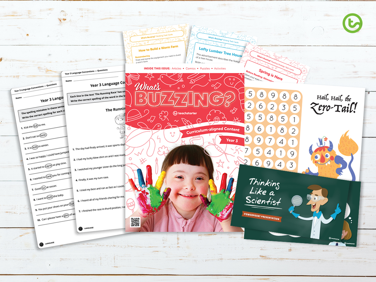 FREE Year 3 Back-to-School Teaching Resource Pack