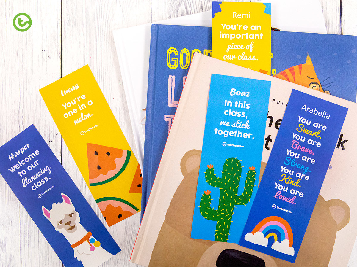 Personalised student bookmarks