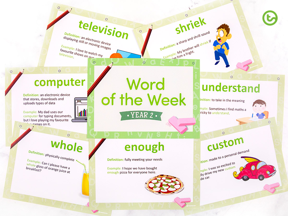 Word of the week for year 2