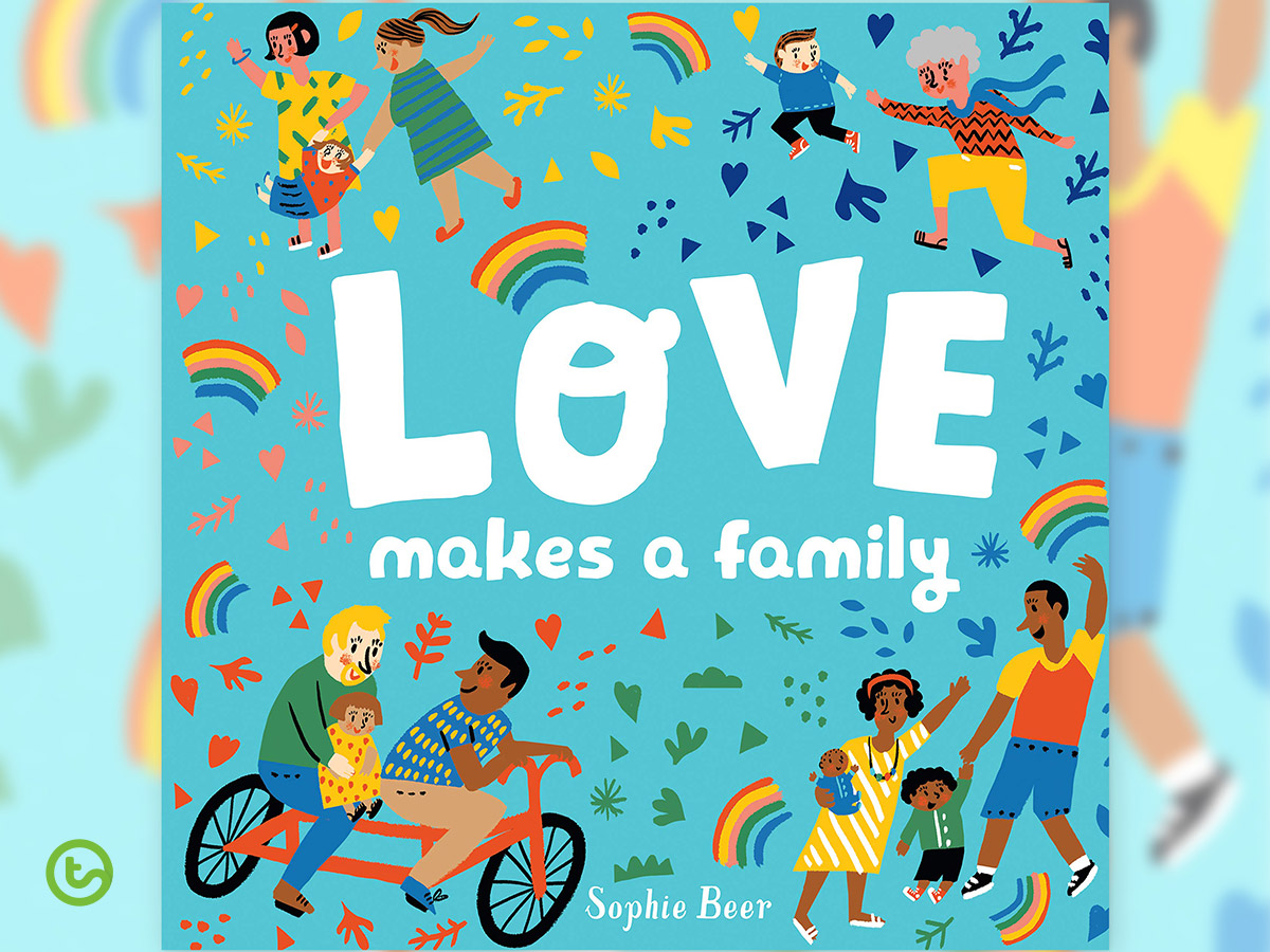 Picture Books About Valentine's Day - Love Makes a Family