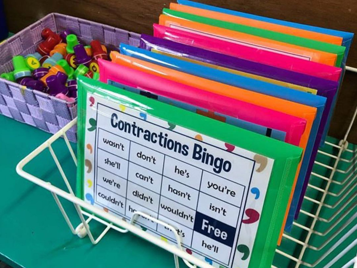 Classroom storage solution for teaching resources