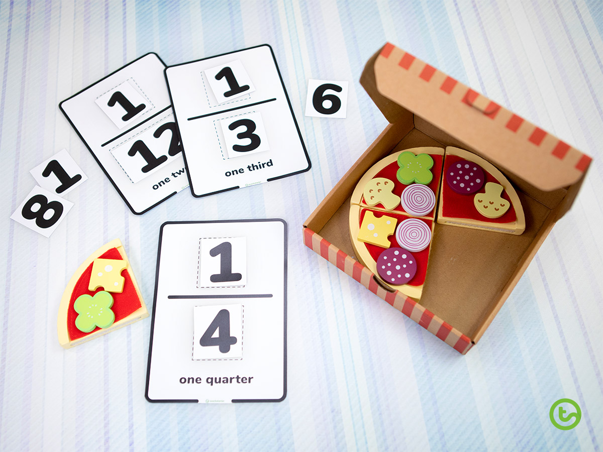 Hands-on Fraction Activities - Build Your Own Fractions