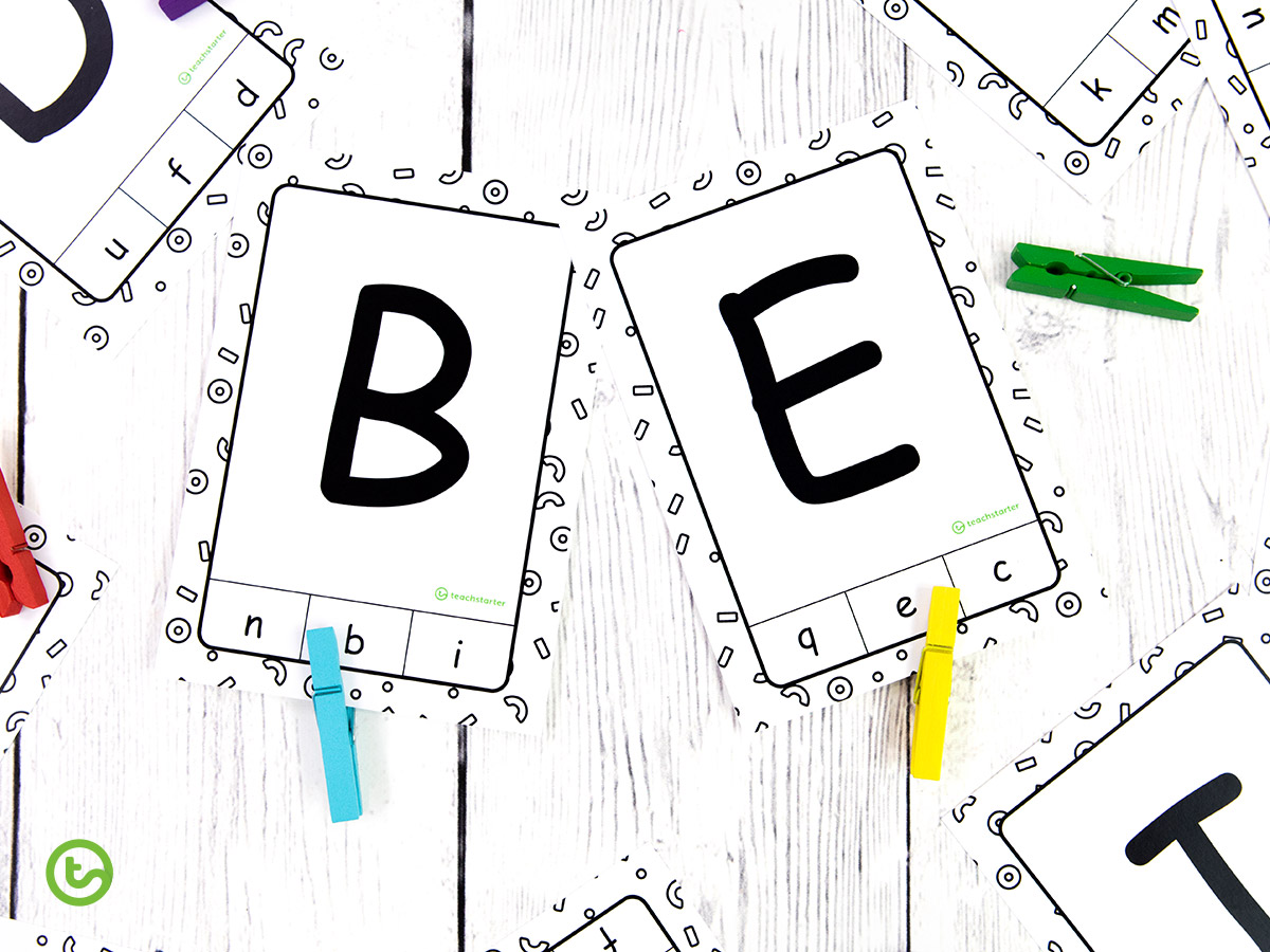 Uppercase and Lowercase Activity for Kids