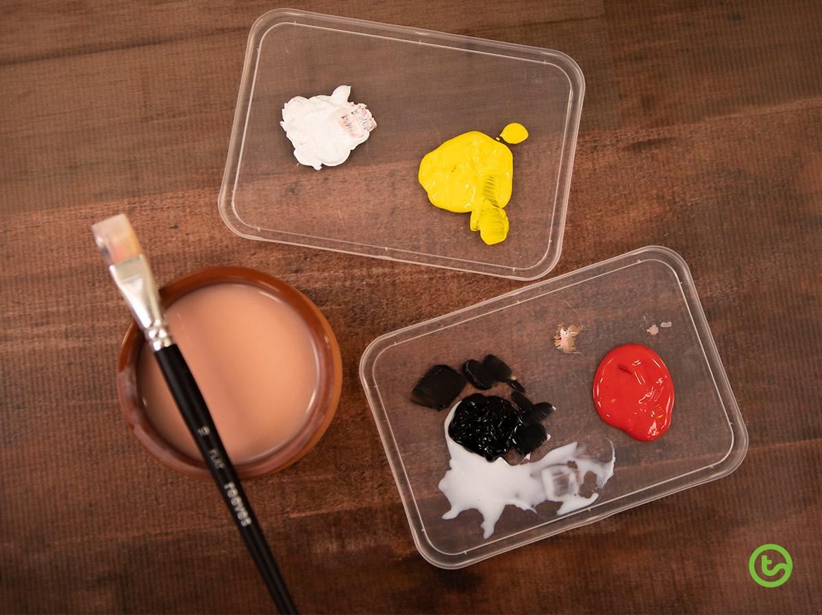 Diversity Heart Art Activity - Material