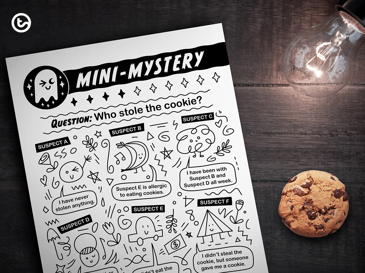 Mini-Mystery - Who stole the cookie?