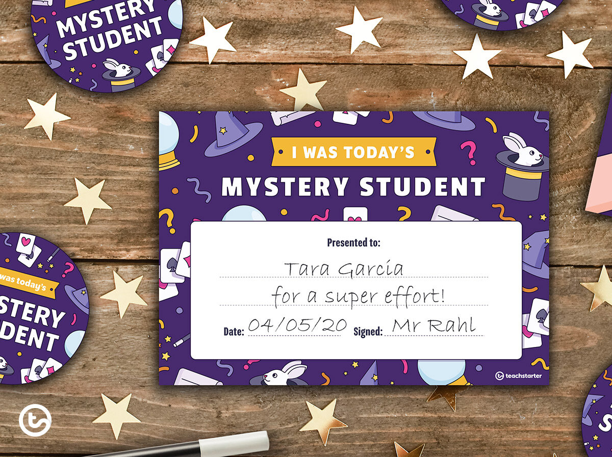 Mystery Student Resources